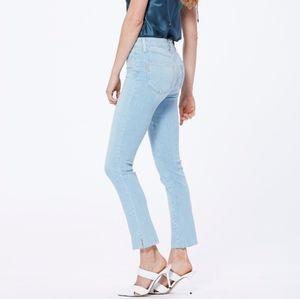 NWT Paige Huxton Slim Stassie High Rise Slim Leg